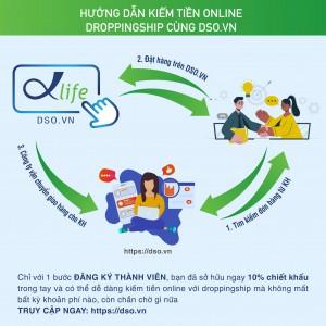 Trở thành Cộng tác viên Dropshipping DSO.VN - Kinh doanh online vốn 0đ, miễn phí sử dụng trọn đời