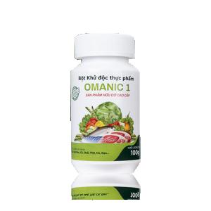 Bột khử độc thực phẩm OMANIC 1 - 100g
