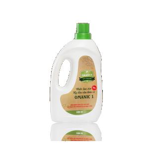 Nước lau sàn và tẩy bồn cầu hữu cơ OMANIC 1 - 1000ml