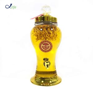 Rượu Đông Trùng Hạ Thảo Fungi - Bình Kim Ngân 3L