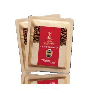 Cà phê phin giấy hữu cơ Ong Biển 204g