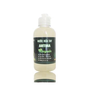 Nước rửa tay khô hữu cơ ANTINA - 250ml