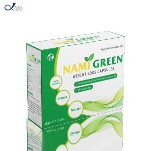 Tảo viên Nami Green (5 vỉ x 10 viên)