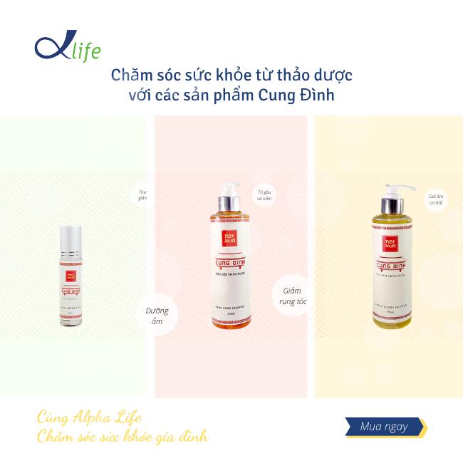 AlphaDSO.asia chính thức phân phối sản phẩm chăm sóc sức khỏe từ thảo dược