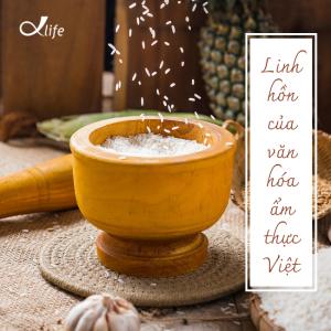 Gạo là linh hồn của văn hóa ẩm thực Việt