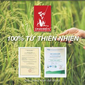 Gạo hữu cơ Thần Nông Ong Biển - Nguồn dinh dưỡng từ thiên nhiên