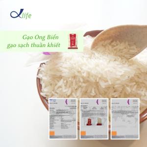 Gạo Ong Biển đã vượt qua 903 chỉ tiêu kiểm định của SGS Thụy Sỹ