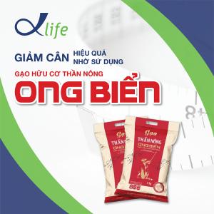 Giảm cân hiệu quả nhờ sử dụng gạo hữu cơ Thần Nông Ong Biển