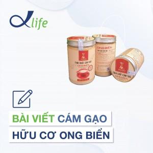 8. Bài viết Cám gạo hữu cơ Ong Biển