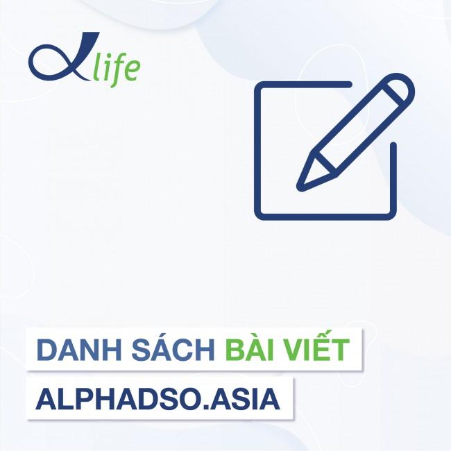 Danh sách bài viết AlphaDSO.asia