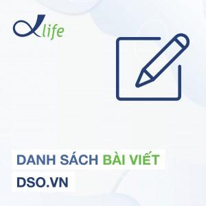 Danh sách bài viết DSO.VN