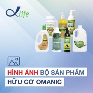 4. Hình ảnh Bộ sản phẩm hữu cơ OMANIC