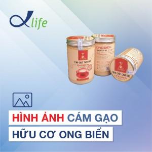 Hình ảnh Cám gạo hữu cơ Ong Biển