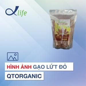 Hình ảnh Gạo lứt đỏ hữu cơ QTO